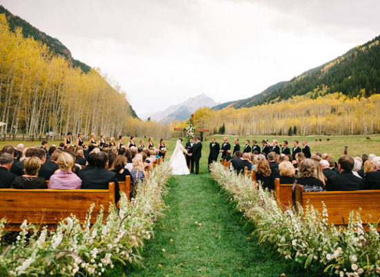 Fall Wedding in Aspen
