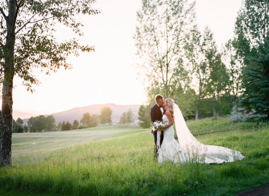 Romantic Lavender Garden Wedding at Roaring Fork Club