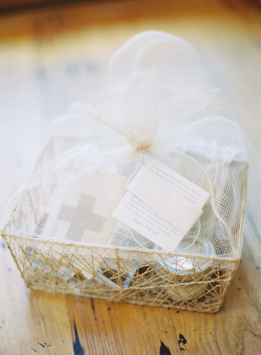 Chic Welcome Bag Ideas – Bluebird Productions