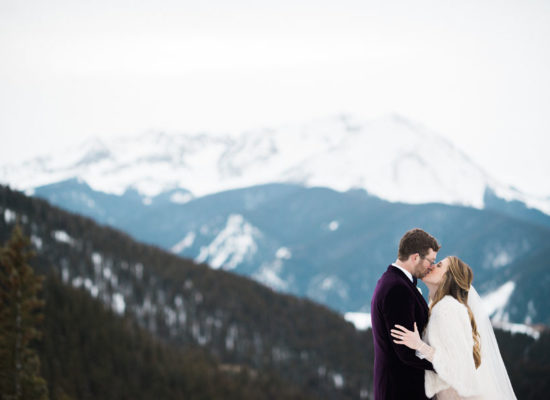 Glamorous Winter Wedding <br> with Velvet Details