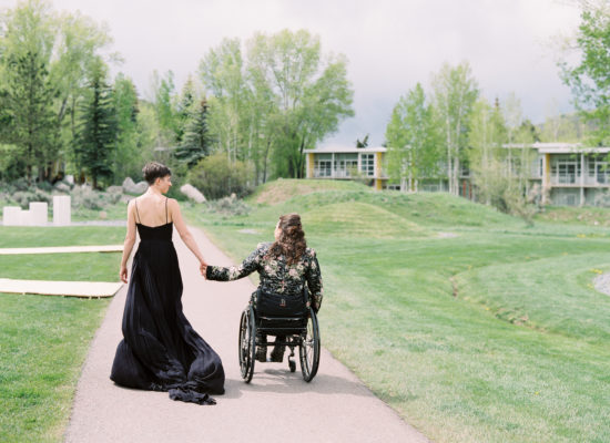 A Moody Wedding in the Mountains