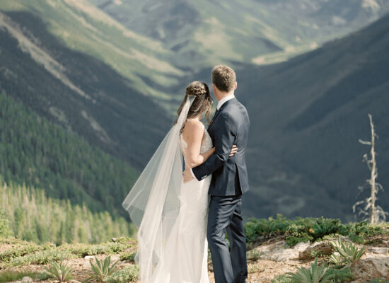 An Intimate, Mountaintop Wedding at Smith Cabin