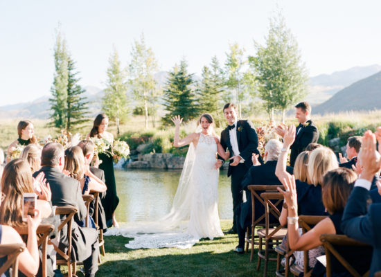A Chic, Fall Wedding in Aspen