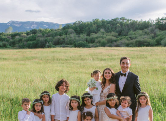 A Persian-Jewish Hybrid Wedding in Old Snowmass