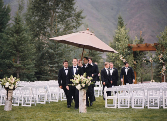 Tips for a Rainy Day Wedding