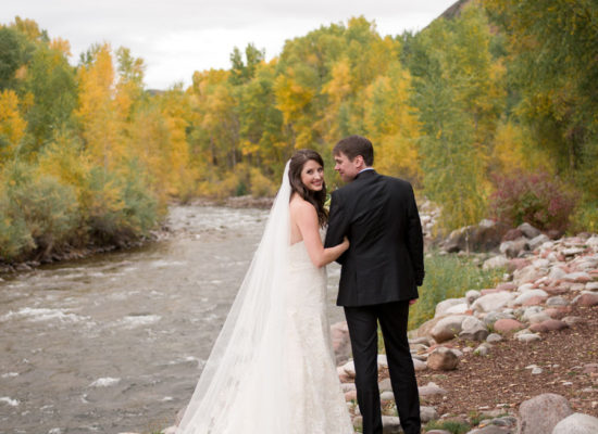 Roaring Fork Wedding with Autumn Foliage