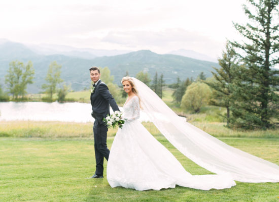 A Modern, Tropical Destination Wedding in Aspen
