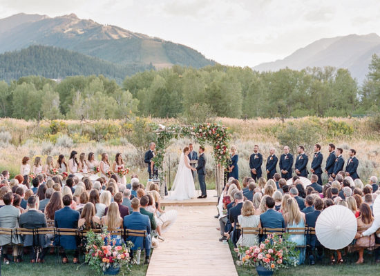 An Aspen Wedding Weekend That Began With Some Cowboy Style
